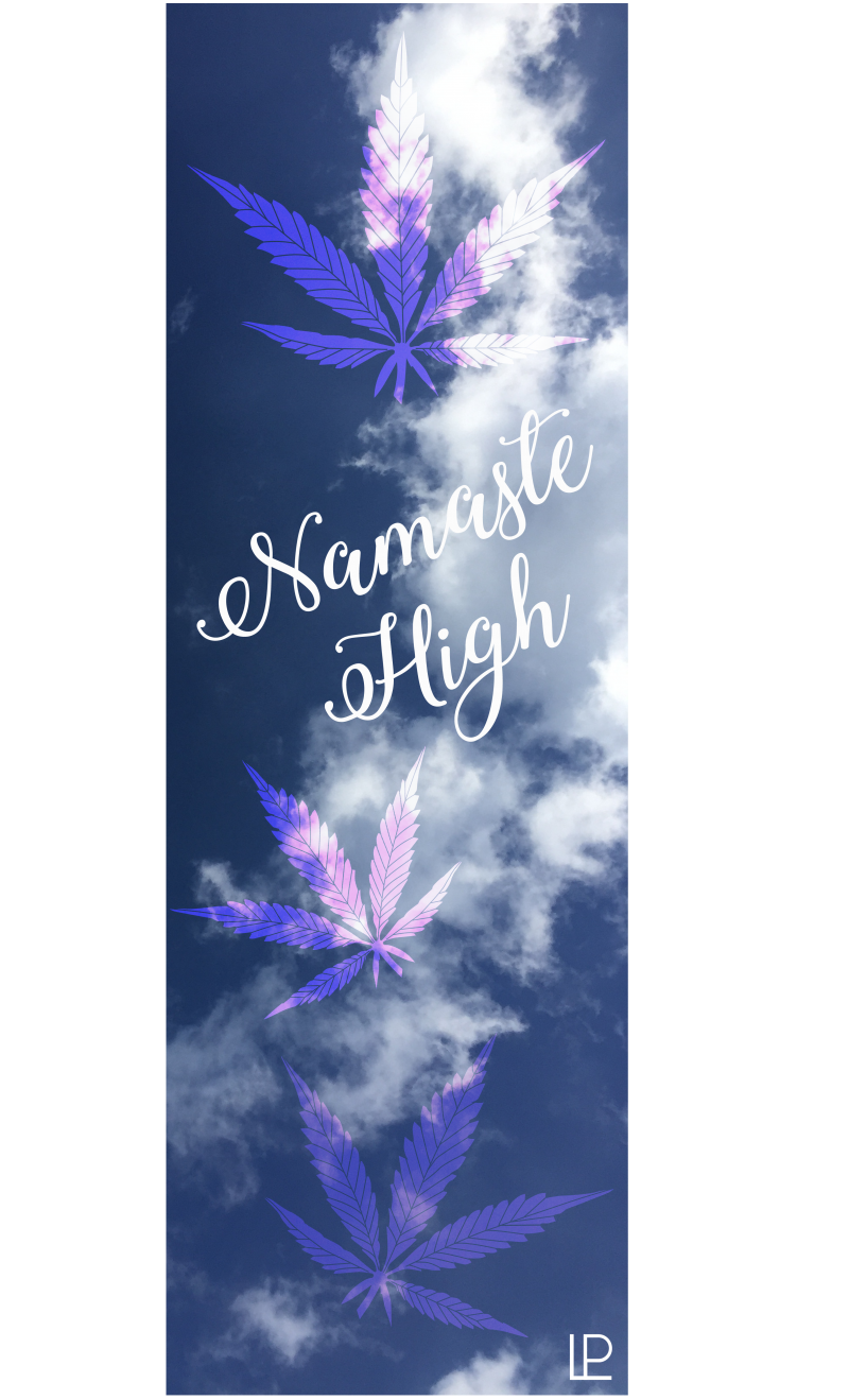 Namaste High Printed Yoga Fitness Mat